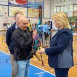 Στους Αγώνες Πρωταθλήματος Τοξοβολίας η Δήμαρχος Χαλκιδέων