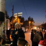 Στο άναμμα του Χριστουγεννιάτικου δέντρου στο Βαθύ η Δήμαρχος Χαλκιδέων