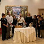 Η Δήμαρχος Χαλκιδέων στην κοπή πίτας του Πολιτιστικού Συλλόγου Αγίου Νικολάου