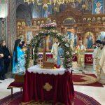 Στην Υποδοχή των Ιερών Λειψάνων των Αγίων Νεομαρτύρων Ραφαήλ, Νικολάου και Ειρήνης εκ της Μυτιλήνης και στον Μέγα Πανηγυρικό Αρχιερατικό Εσπερινό η Δήμαρχος Χαλκιδέων