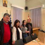 Στην κοπή πίτας του ΔΟΑΠΠΕΧ η Δήμαρχος Χαλκιδέων