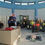 Σεμινάριο Πρώτων Βοηθειών για τους εργαζόμενους των Τμημάτων Καθαριότητας και Πρασίνου του Δήμου Χαλκιδέων