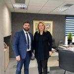 Συνάντηση της Δημάρχου Χαλκιδέων με τον νέο Διοικητή του Γενικού Νοσοκομείου Χαλκίδας