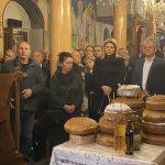 Ο Μέγας Πανηγυρικός Εσπερινός και η Λιτανεία της ιεράς εικόνας του Αγίου Χαραλάμπους στο Αφράτι Ληλαντίων