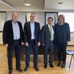 Συνάντηση της Δημάρχου Χαλκιδέων με τον Υπουργό Μετανάστευσης και Ασύλου