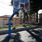 Εργασίες αποκατάστασης και συντήρησης στους αθλητικούς χώρους των σχολικών κτιρίων του Δήμου Χαλκιδέων