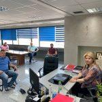 """Συνάντηση της Δημάρχου Χαλκιδέων με εκπροσώπους της Κίνησης """"Προσπάθεια οργάνωσης καταστημάτων Εστίασης"""""""