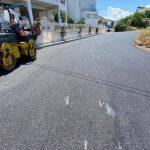 Συνεχίζονται οι εργασίες βελτίωσης του οδικού δικτύου στον Δήμο Χαλκιδέων