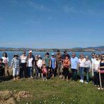 Με επιτυχία ολοκληρώθηκε η εθελοντική δενδροφύτευση στην Παραλία του Αγίου Νικολάου Ληλαντίων