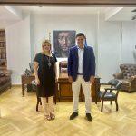 Συνάντηση της Δημάρχου Χαλκιδέων με τον Υπουργό Υγείας Βασίλη Κικίλια