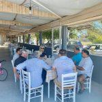 Με ιδιοκτήτες των καταστημάτων της παραλίας Νέας Λαμψάκου συναντήθηκε η Δήμαρχος Χαλκιδέων