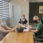 """Υπογραφή σύμβασης για την """"ΑΝΑΚΑΤΑΣΚΕΥΗ ΧΩΡΟΥ ΓΗΠΕΔΟΥ ΣΤΟ ΦΑΡΟ ΑΥΛΙΔΑΣ"""""""