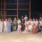 Στη Θεατρική παράσταση «Αναχώρηση από την Ωγυγία /Ραψωδία Ε-Ομήρου Οδύσσεια» η Δήμαρχος Χαλκιδέων