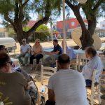 Με επαγγελματίες της παραλίας Αγίου Νικολάου (Μπούρτζι) συναντήθηκαν η Δήμαρχος Χαλκιδέων και ο Περιφερειάρχης Στερεάς Ελλάδας