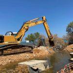 Ξεκίνησαν οι εργασίες καθαρισμού και αποκατάστασης των ζημιών στην παραλία Αγίου Νικολάου (Μπούρτζι)