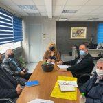 Συνάντηση της Δημάρχου Χαλκιδέων με τον Σύλλογο