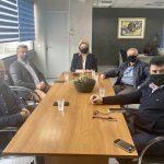 Συνάντηση της Δημάρχου Χαλκιδέων με το Επιμελητήριο Ευβοίας για την επαναλειτουργία της Σχολής του Δημοκρίτου