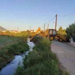 Εργασίες καθαρισμού των αμπολών στις περιοχές Λιανής Άμμου και Αγίας Ελεούσας