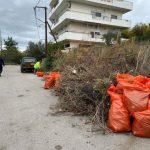 Επιχειρήσεις καθαριότητας στις περιοχές Μπαταριά και Μακεδονικών