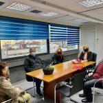Συνάντηση της Δημάρχου Χαλκιδέων σχετικά με την προσωρινή μετεγκατάσταση των Ε.Ε.Ε.Ε.Κ