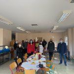 Στη διανομή εορταστικών γευμάτων στους ωφελούμενους του Συσσιτίου η Δήμαρχος Χαλκιδέων