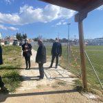 Στο Λευκαντί, το Γήπεδο Ποδοσφαίρου και το Κλειστό Γυμναστήριο Βασιλικού για την παρακολούθηση των έργων υποδομών η Δήμαρχος Χαλκιδέων