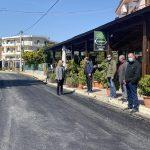 Στα έργα που εκτελούνται στην παραλία στο Λευκαντί η Δήμαρχος Χαλκιδέων