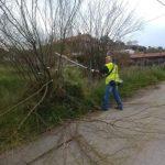 Εργασίες καθαριότητας στις περιοχές Κανήθου και Χαραυγής