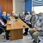 Συνάντηση της Δημάρχου Χαλκιδέων με τον Πρύτανη του ΕΚΠΑ