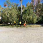Παρεμβάσεις καθαριότητας στην περιοχή Τένις και στη Λεωφόρο Χαϊνά