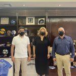 Συνάντηση της Δημάρχου Χαλκιδέων με τον Υφυπουργό Πολιτισμού κι Αθλητισμού