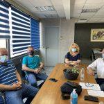 Συνάντηση της Δημάρχου Χαλκιδέων με μέλος του ΔΣ της Δ' Κυνηγετικής Ομοσπονδίας Στερεάς Ελλάδας και μέλος του ΔΣ του Κυνηγετικού Συλλόγου Χαλκίδας