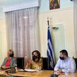 Επίσκεψη της Προέδρου της Επιτροπής «Ελλάδα 2021» στον Δήμο Χαλκιδέων