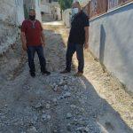 Ξεκίνησε το έργο κατασκευής επικλινών δρόμων στην Κοινότητα των Φύλλων