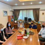 Επίσκεψη της Υφυπουργού Εργασίας και Κοινωνικών Υποθέσεων στη Χαλκίδα