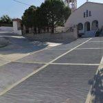 Κατασκευή επικλινούς τσιμεντόστρωσης οδού στο Αφράτι