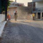 Εργασίες καθαριότητας στις περιοχές του Μπαταριά και της Αγίας Μαρίνας