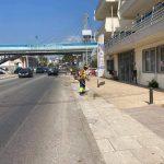 Παρεμβάσεις καθαριότητας στη Λεωφόρο Χαϊνά και στις Καμάρες