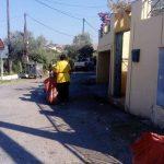 Παρεμβάσεις καθαριότητας στα Κολιματσάνικα