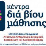 Πρόσκληση εκδήλωσης ενδιαφέροντος συμμετοχής στα τμήματα μάθησης του Κέντρου Διά Βίου Μάθησης (Κ.Δ.Β.Μ.) Δήμου Χαλκιδέων