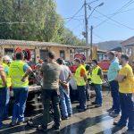 Άσκηση ετοιμότητας για πυρόσβεση και πυρασφάλεια και δοκιμή των πυροσβεστικών οχημάτων στον Δήμο Χαλκιδέων