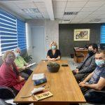 Συναντήσεις της Δημάρχου Χαλκιδέων με τον Σύλλογο Δασκάλων και Νηπιαγωγών και την ΕΛΜΕ Ευβοίας