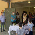 Στους Αγιασμούς για τη νέα σχολική χρονιά η Δήμαρχος Χαλκιδέων