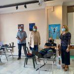 Με μεγάλη επιτυχία πραγματοποιήθηκε η εθελοντική αιμοδοσία του Δήμου Χαλκιδέων και του Συλλόγου «Ο Καλός Σαμαρείτης»